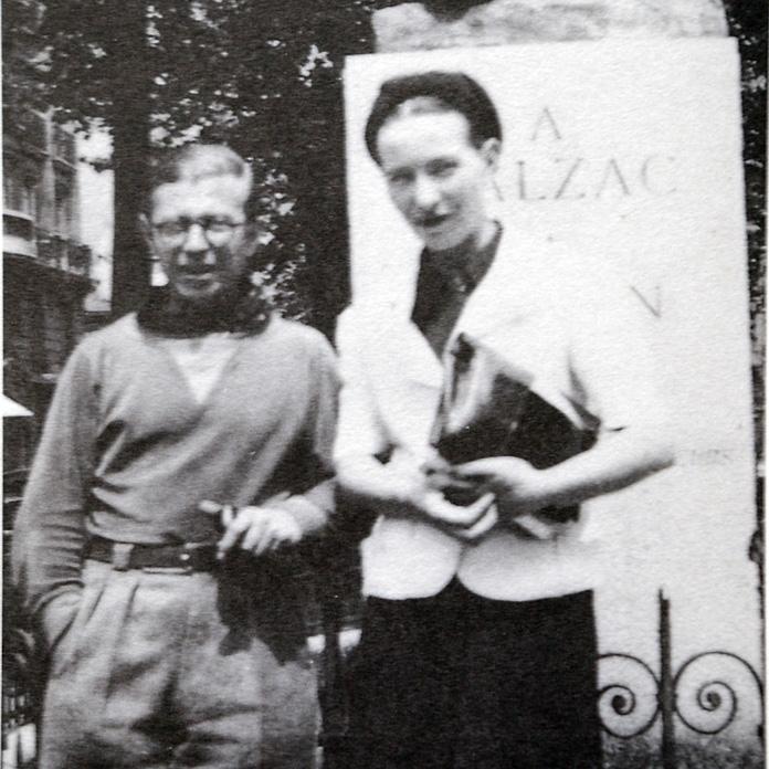 Simone de Beauvoirs Leben mit Jean Paul Sartre