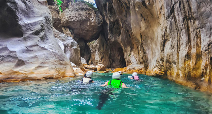 Canyoning Tour Geschenk