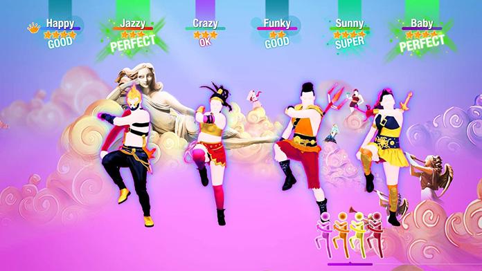 Top Fitnessspiele: Just Dance 2020