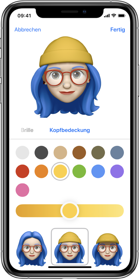 Apple Memoji erstellen