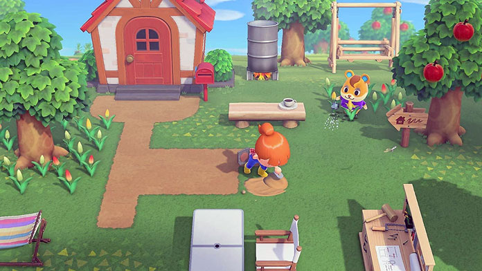Animal Crossing: New Horizons craften