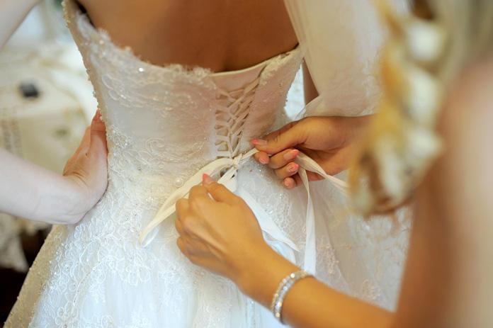 Glamour Brautkleid
