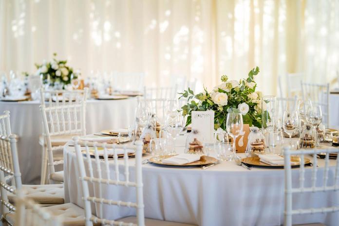 Glamour Hochzeitsdekoration