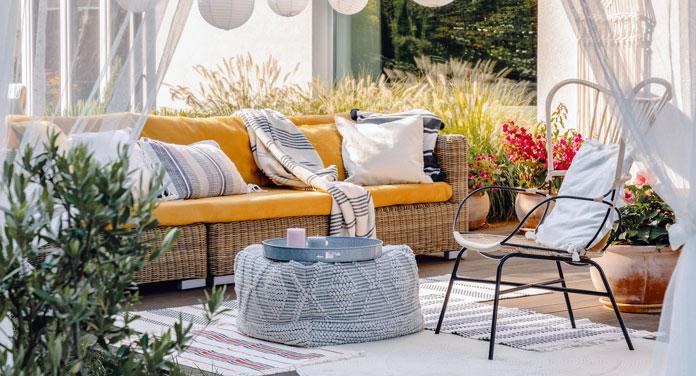 Schöne Gestaltungsideen und Inspirationen für deine Terrasse