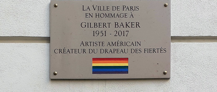 Gilbert Baker Hommage in Paris