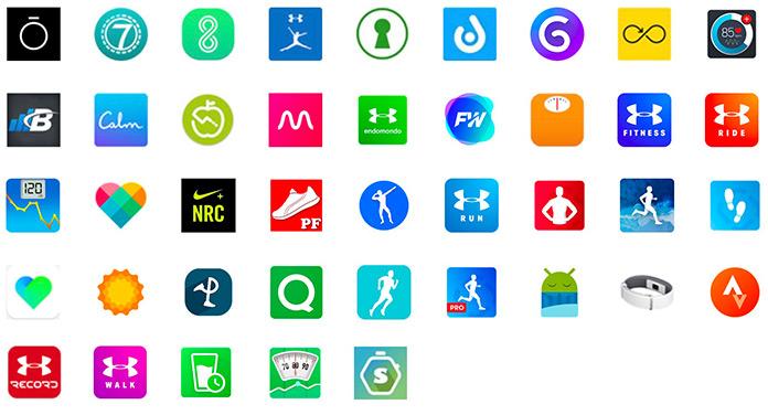 Google Fit kompatible Apps