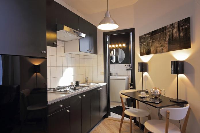 kleine Küche Einrichtung