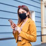 Mund-Nasen-Masken als modisches Accessoire
