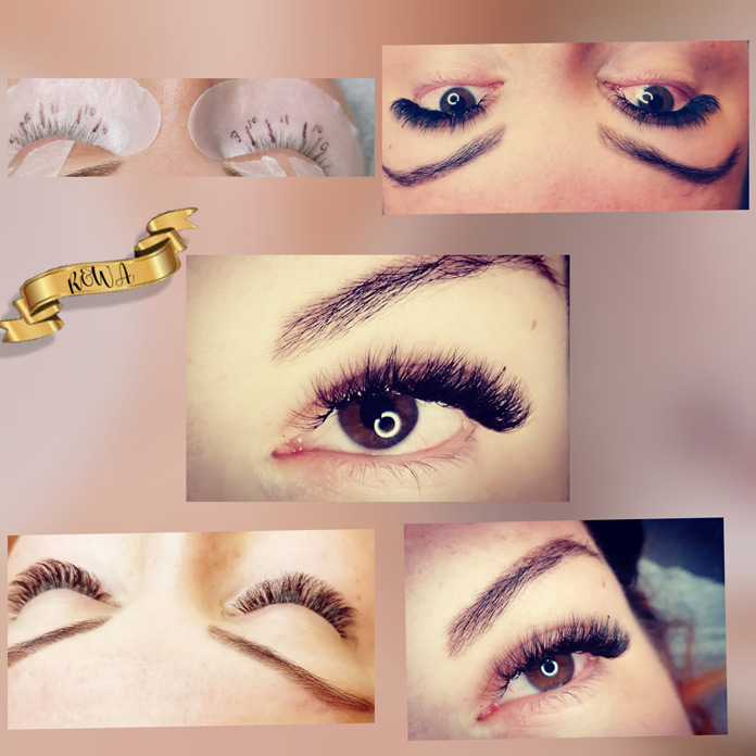 Wimpernstyling Rima