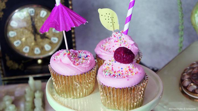 Himbeer Cosmopolitan Cupcakes