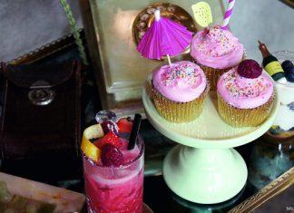Für den Mädelsabend: Himbeer Cosmopolitan Cupcakes