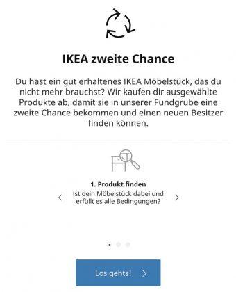 IKEA Zweite Chance - Start