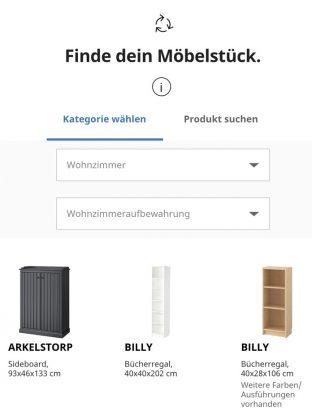 IKEA Zweite Chance - Finde dein Möbelstück