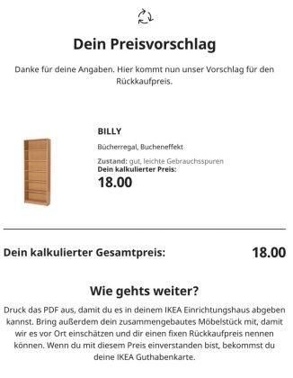 IKEA Zweite Chance - Dein Preisvorschlag
