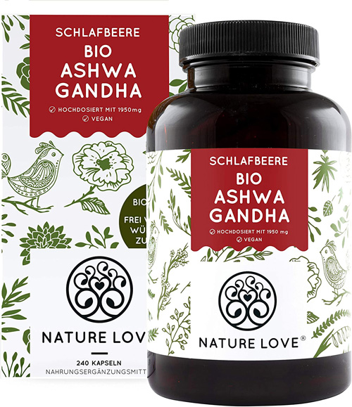NATURE LOVE® Bio Ashwagandha