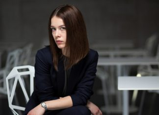 Paula Beer im Portrait