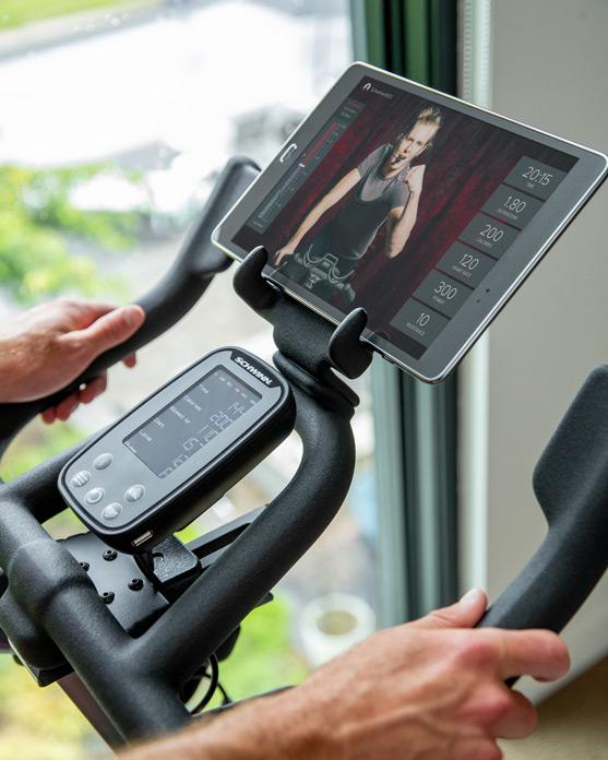 Schwinn IC8 Spinning-Bike Display Tablet