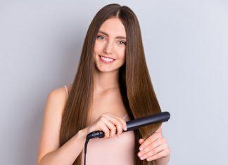 Glätteisen für das Haarstyling: perfekt für heiße Styles