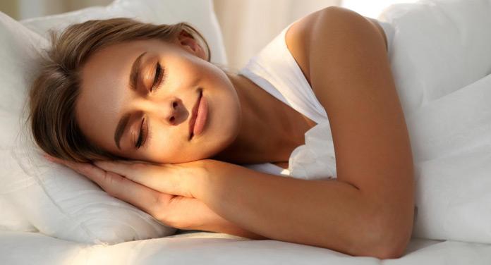 Achte auf ausreichend Schlaf