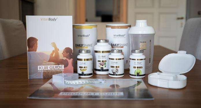 Die VitalBodyPLUS Stoffwechselkur - In 4 Wochen nachhaltig abnehmen