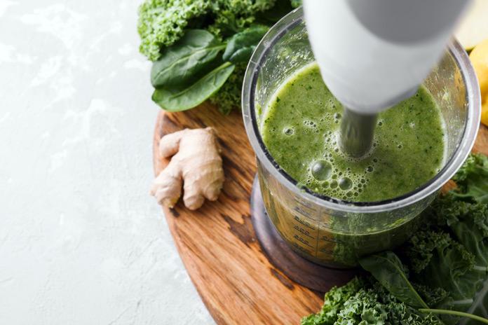 Grüner Sirtfood-Smoothie