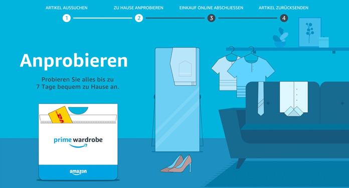 Amazon Prime Wardrobe: Alles, was du über den Fashion-Service wissen musst