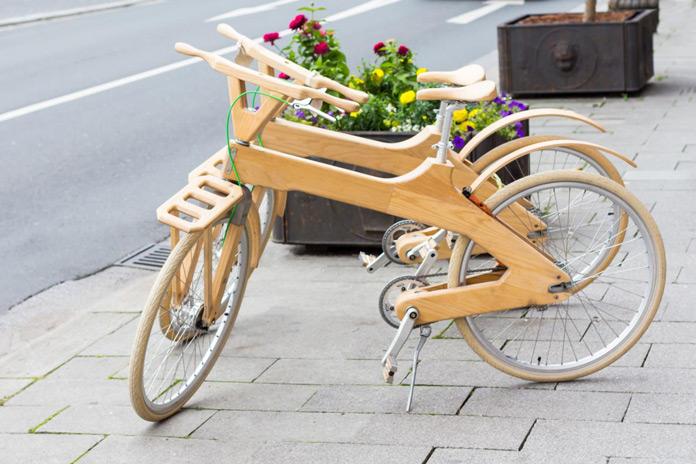 Rad aus Holz