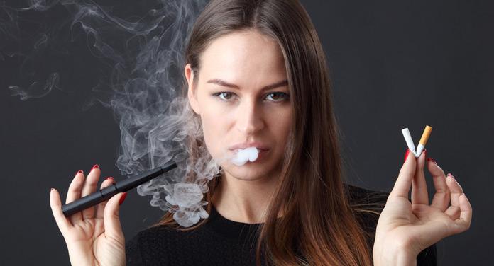 Mit der E-Zigarette mit dem Rauchen aufhören - funktioniert das?