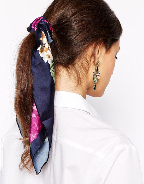 Schal Haarband