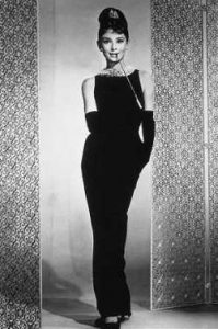Audrey Hepburn Black Evening Gowns
