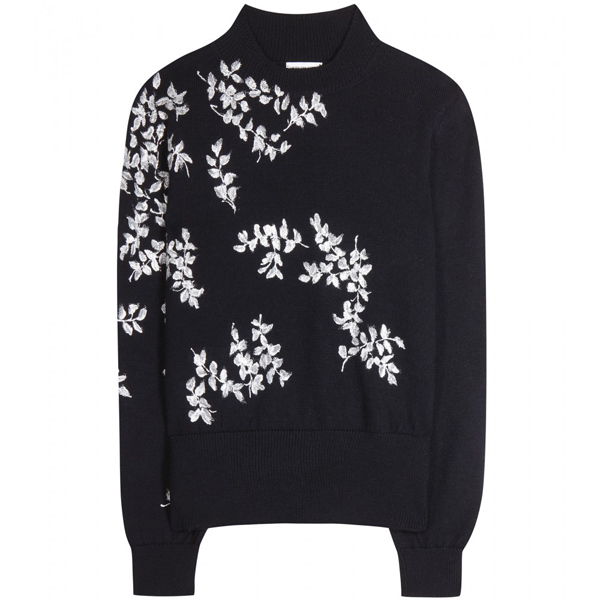 Dries van Noten - Verzierter Wollpullover
