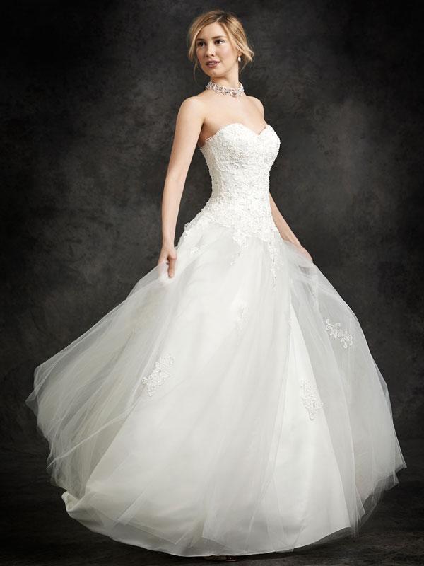 Hochzeitskleid Duchesse