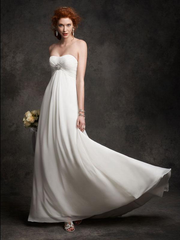 Hochzeitskleid Empire