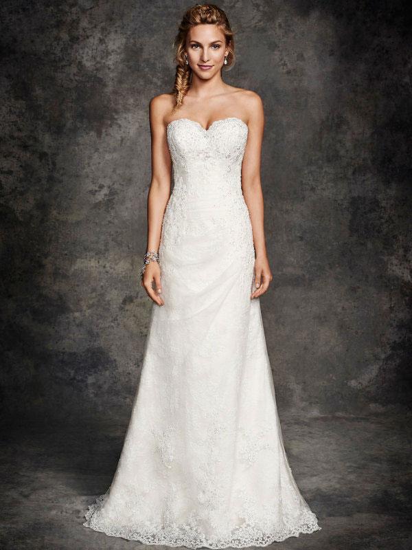 Hochzeitskleid Etui