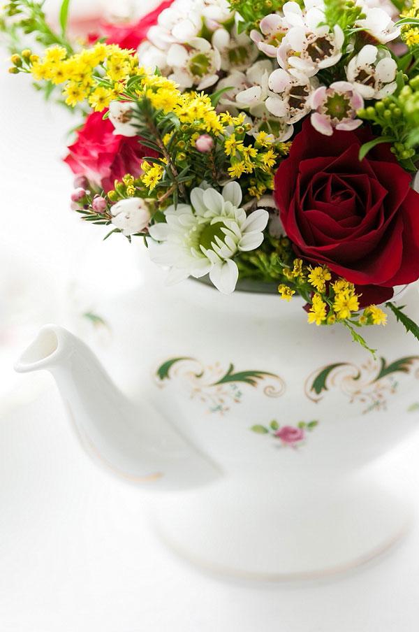 Gartenhochzeit Blumen