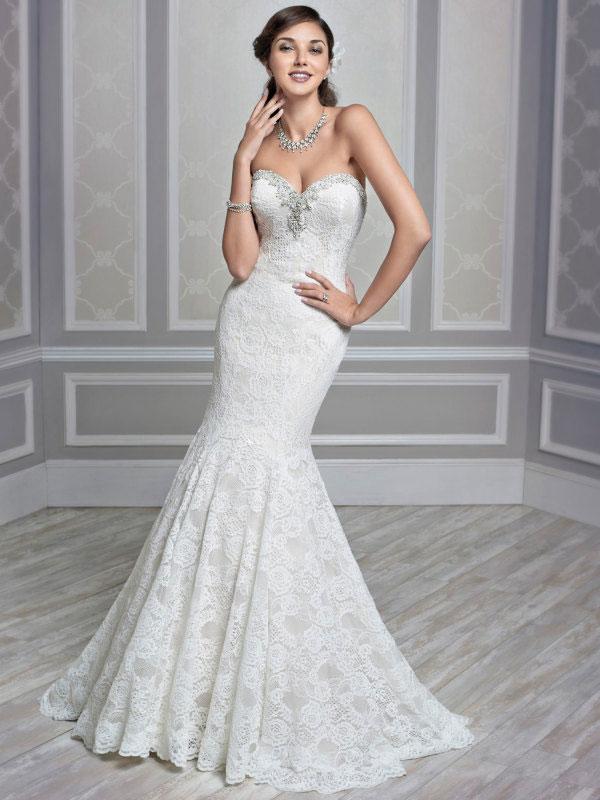 Hochzeitskleid Meerjungfrauen-Kleid