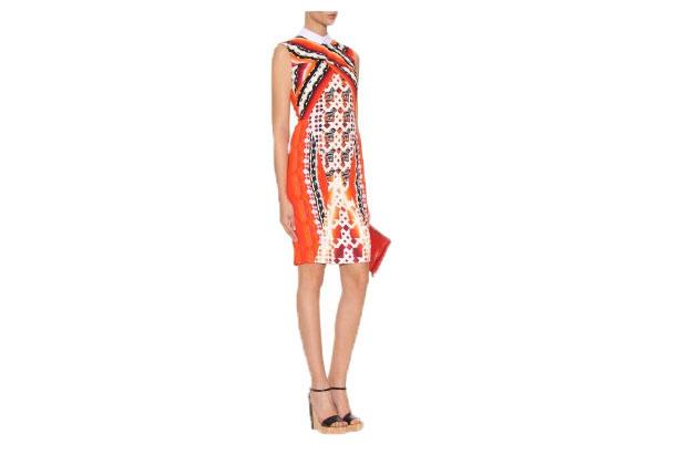 Kleid mit Digital-Print von Peter Pilotto