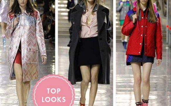 Bunte Fashion Vibes: Der Look von Miu Miu