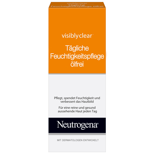Neutrogena Visibly Clear Feuchtigkeitspflege Ölfrei