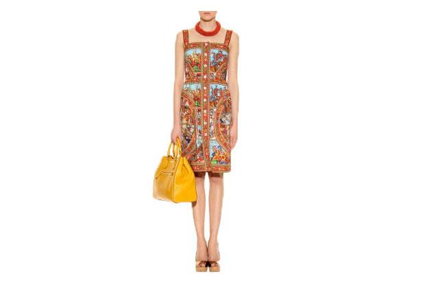 Printkleid von Dolce & Gabbana