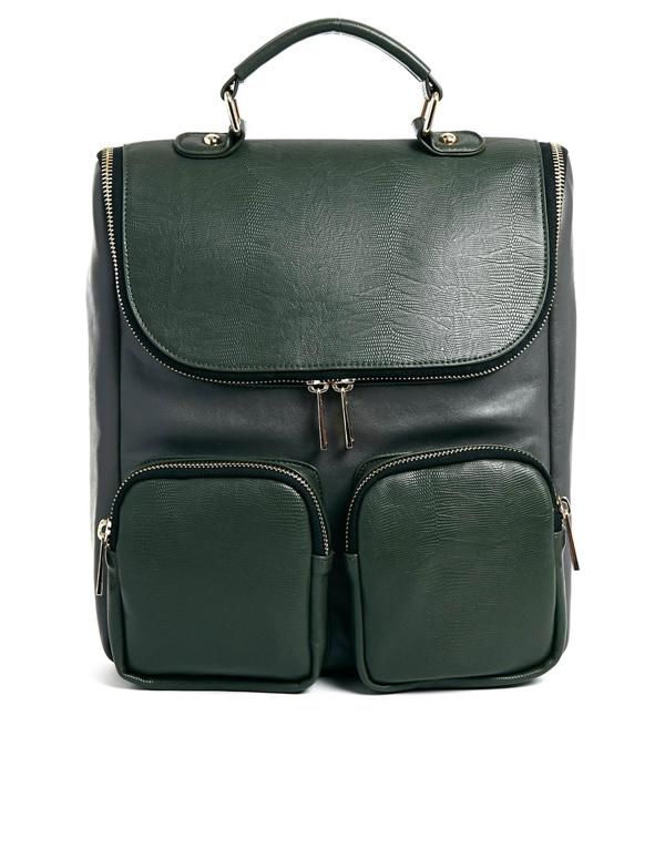 Rucksack Grün von Asos Collection