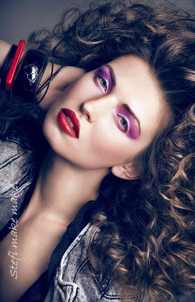 Hair & Make-up Artist Stefi Bazavan im Porträt