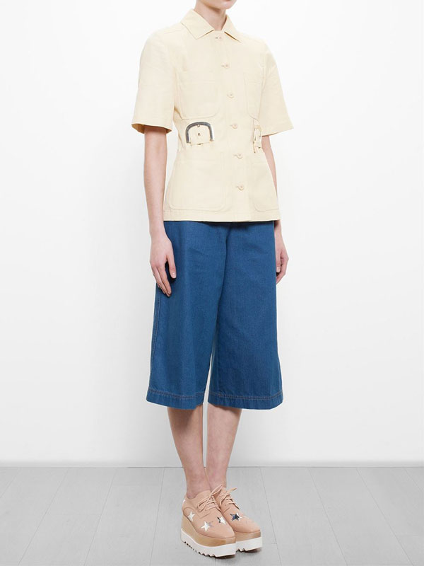 Stella McCartney - denim culottes