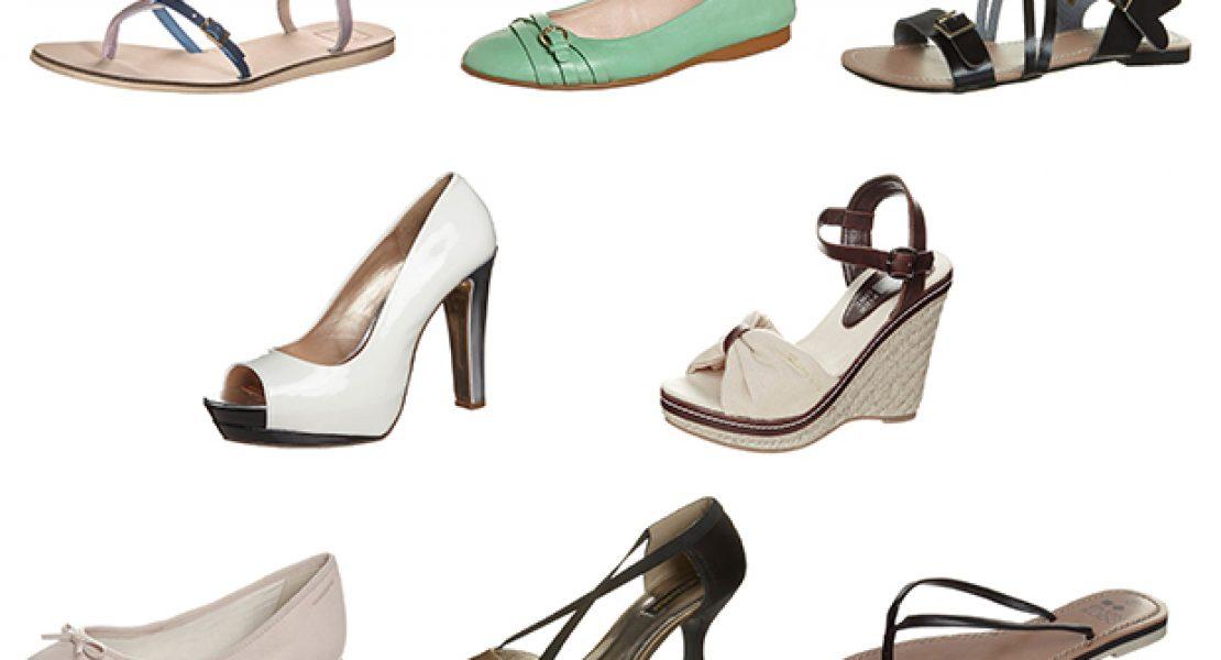 Schuhe über Schuhe…so läuft man durch den Sommer