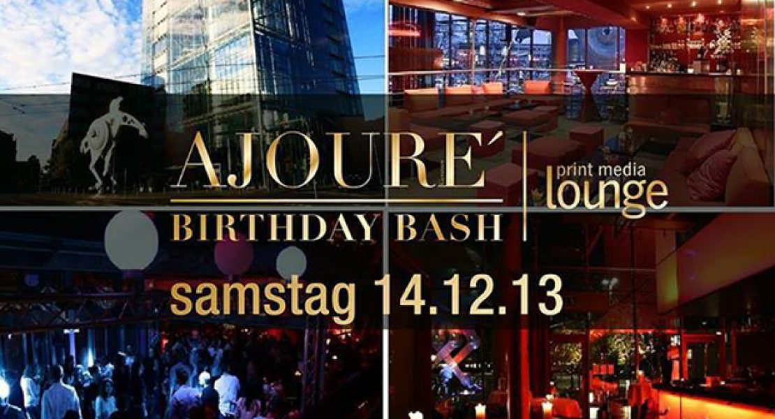 Ajouré Birthday Bash