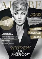 AJOURE´ Cover Monat Juli 2015