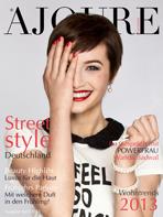 Ajouré Cover Monat April 2013