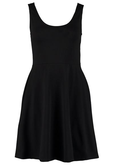 benetton-jerseykleid-schwarz