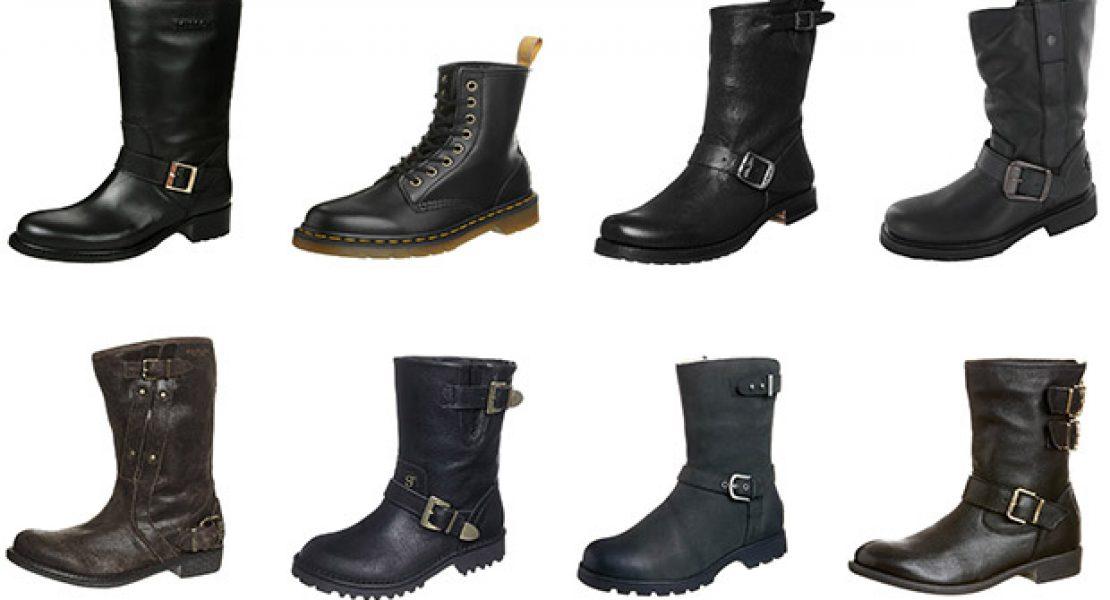 Hart oder zart? Biker Boots im Trendcheck