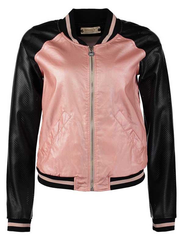blouson-rosa-schwarz